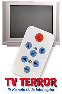 TV Remote Code Interceptor